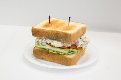 Homemade Chicken Salad Sandwich